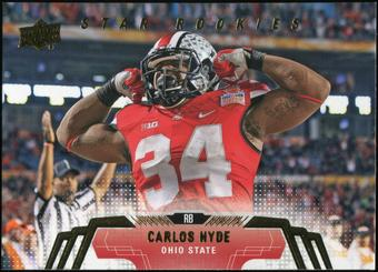 2014 Upper Deck #265 Carlos Hyde SP RC