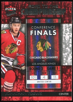 2014/15 Ultra Road to the Championship #RTCCBJT7 Jonathan Toews/Round 3 (5/18/14)