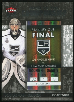 2014/15 Ultra Road to the Championship #RTCLAKJQ11 Jonathan Quick/Round 4 (6/7/14)