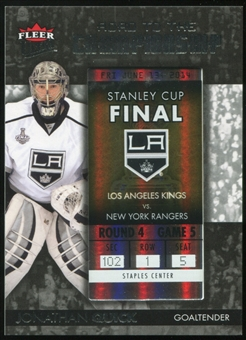 2014/15 Ultra Road to the Championship #RTCLAKJQ12 Jonathan Quick/Round 4 (6/13/14)