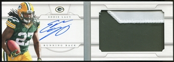 2013 Panini National Treasures Rookie Jumbo Prime Booklet Signatures #8 Eddie Lacy 46/49
