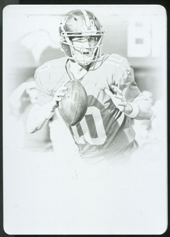 2013 Panini National Treasures Printing Plates Black #67 Eli Manning 1/1