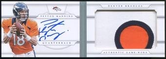 2013 Panini National Treasures Jumbo Prime Booklet Signatures #22 Peyton Manning 16/25