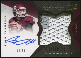 2012 Upper Deck Exquisite Collection #145 Ryan Tannehill Rookie Autograph Patch 38/99