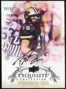 2013 Upper Deck Exquisite Collection Exquisite Art #EADB Drew Brees 8/10