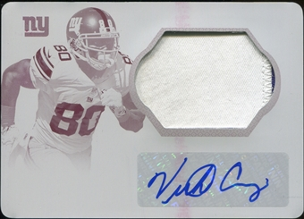 2013 Panini National Treasures Century Signature Materials Printing Plates Magenta #70 Victor Cruz 1/1