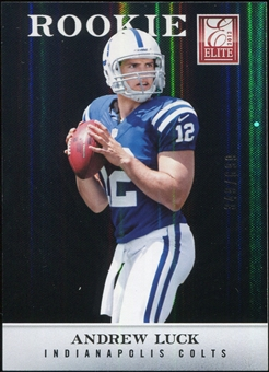 2012 Panini Elite #101 Andrew Luck RC 349/699