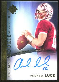 2012 Upper Deck Ultimate Collection Rookie Autographs #61 Andrew Luck RC