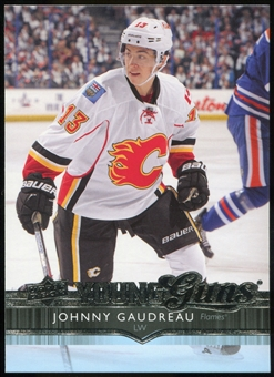 2014/15 Upper Deck #211 Johnny Gaudreau YG RC Young Guns Rookie Card