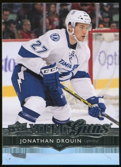 2014/15 Upper Deck #477 Jonathan Drouin YG RC Young Guns Rookie Card