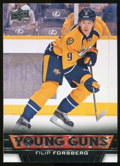 2013-14 Upper Deck #451 Filip Forsberg YG RC Young Guns Rookie Card