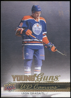 2014/15 Upper Deck Canvas #C104 Leon Draisaitl YG RC Young Guns Rookie Card