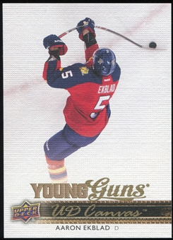 2014/15 Upper Deck Canvas #C105 Aaron Ekblad YG RC Young Guns Rookie Card