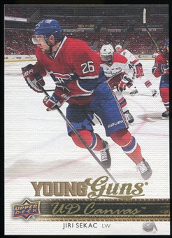 2014/15 Upper Deck Canvas #C106 Jiri Sekac YG RC Young Guns Rookie Card