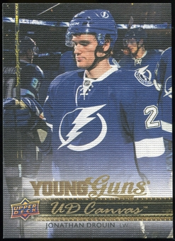 2014/15 Upper Deck Canvas #C214 Jonathan Drouin YG RC Young Guns Rookie Card