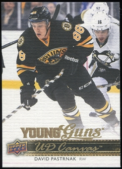 2014/15 Upper Deck Canvas #C225 David Pastrnak YG RC Young Guns Rookie Card