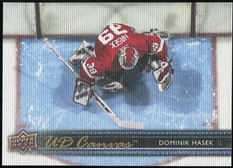 2014/15 Upper Deck Canvas #C246 Dominik Hasek RET Retired Legends