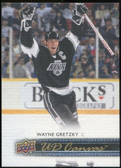 2014/15 Upper Deck Canvas #C254 Wayne Gretzky RET Retired Legends