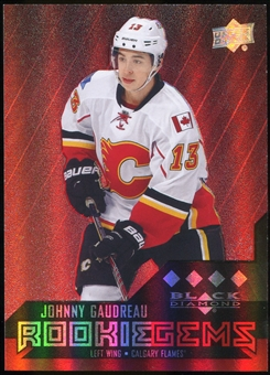 2014/15 Upper Deck Black Diamond Ruby #231 Johnny Gaudreau RC /150