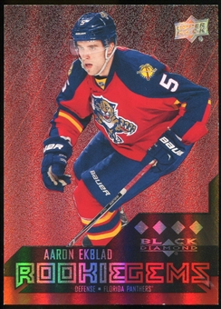 2014/15 Upper Deck Black Diamond Ruby #243 Aaron Ekblad RC 34/150
