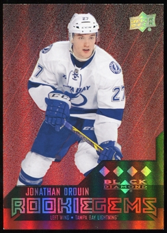 2014/15 Upper Deck Black Diamond Ruby #245 Jonathan Drouin RC /150