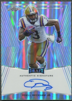 2014 Leaf Metal Draft #BAOBJ Odell Beckham Jr. Rookie Auto
