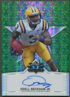 2014 Leaf Valiant Draft #BAOBJ Odell Beckham Jr. Rookie Auto