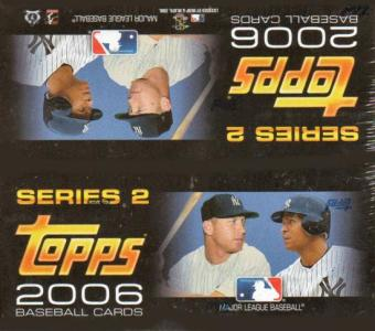 2006 Topps Series 2 Baseball 24 Pack Box