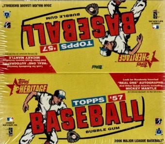 2006 Topps Heritage Baseball 24 Pack Box