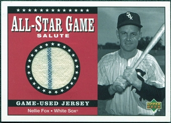 2002 Upper Deck All-Star Salute Game Jersey #SJNF Nellie Fox