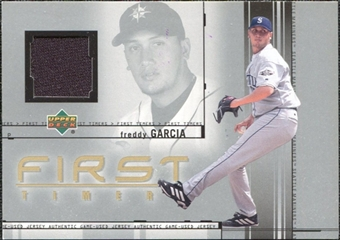 2002 Upper Deck First Timers Game Jersey Freddy Garcia #FTFG
