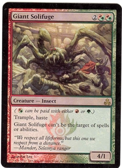 Magic the Gathering Guildpact Single Giant Solifuge Foil