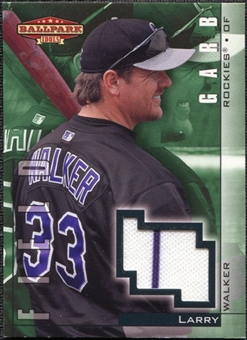 2002 Upper Deck Ballpark Idols Field Garb Jerseys #LW Larry Walker