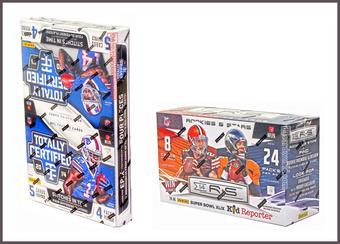 COMBO DEAL - 2014 Panini Football Hobby Boxes (Totally Certified, Rookies & Stars)