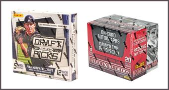 COMBO DEAL - 2014 Panini Baseball Hobby Boxes (Elite Extra Edition, Prizm Perennial Draft)