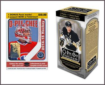 COMBO DEAL - 2014/15 Upper Deck Hockey Blaster Boxes (O-Pee-Chee, O-Pee-Chee Platinum)