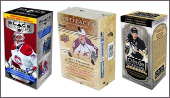 COMBO DEAL - 2014/15 Upper Deck Hockey Blaster Boxes (Black Diamond, Artifacts, O-Pee-Chee Platinum)