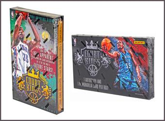 COMBO DEAL - Panini Court Kings Basketball Hobby Boxes (2014/15 & 2013/14)