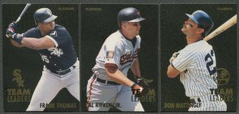1995 Fleer Baseball Team Leaders Complete Set (NM-MT)