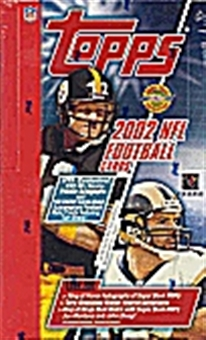 2002 Topps Football Jumbo Box
