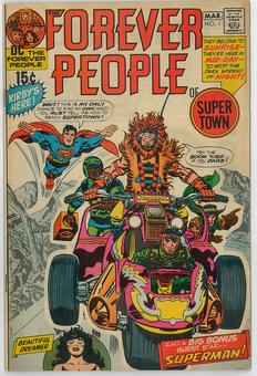 Forever People #1 VF-