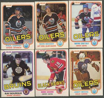 1981/82 O-Pee-Chee Hockey Complete Set (EX-MT)