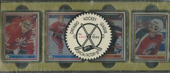 1990/91 7th Inning Sketch OHL Hockey Factory Set