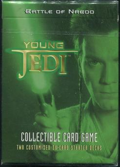 Decipher Star Wars Young Jedi Battle of Naboo Starter Deck