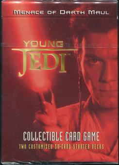Decipher Star Wars Young Jedi Menace of Darth Maul Starter Deck