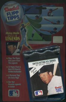 Flipp Tipps Baseball Mickey Mantle Legends Series Factory Sealed Flip Book