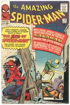 Amazing Spider-Man #18 FN-