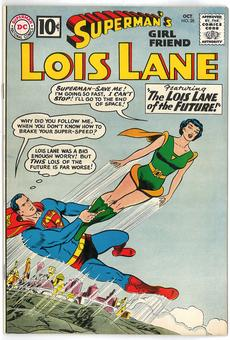 Superman's Girlfriend Lois Lane #28 VF