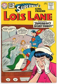 Superman's Girlfriend Lois Lane #30 VF+