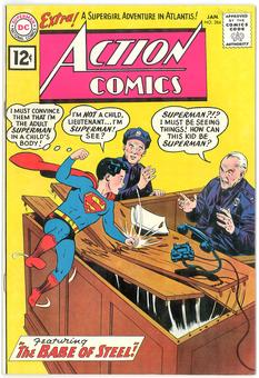 Action Comics #284 VF+